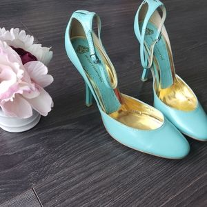 Fornarina turquoise women's sandle size 41